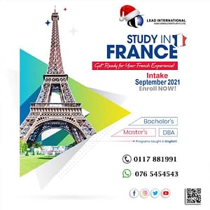 Study-among the top Business-school in Paris
