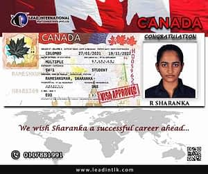 Successful CanadaStudent Visa Approval