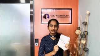 Sharanka Successful Visa
